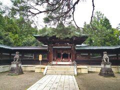 上杉神社 数年前にも1度来ました。