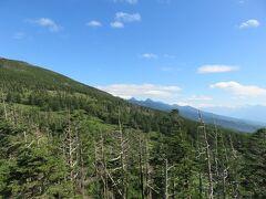 北八ヶ岳ロープウェイ・・・山頂に広がるパノラマと大自然に感動  標高2237mの山頂駅まで約7分で駆け上がる100人乗りロープウェイ  目の前に広がる山岳風景は迫力満点な美しさ  山頂には坪庭溶岩自然園が広がります