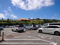 美ヶ原高原美術館のオブジェも見えます。