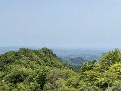 仏果山の展望台からの眺めです。