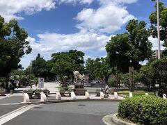 住吉大社の近くの公園