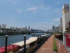 思わず嬉しくなって、バスを乗り換えるところを両国まで隅田川沿いに歩いて行くことにした。