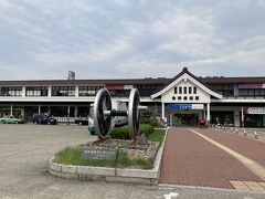 さて、会津若松駅を通って・・・