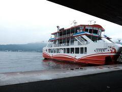 岡山でサンライズ瀬戸を下車し、向かったのは朝の宮島。
