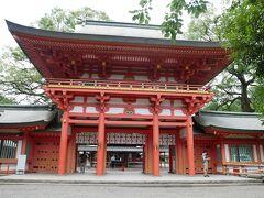 試合後は氷川神社に行ってみました。
