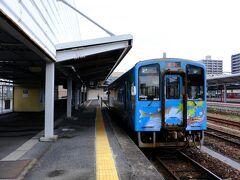 そして岩国を離れ、初乗車の錦川鉄道へ乗りに行く。