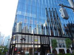 ホテルから真っ直ぐ徒歩10分ほどで到着しました。 東急プラザ内にあるMEToa Ginza(メトアギンザ) 三菱電機グループの施設です。
