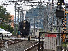 下今市からはSL列車です。 別途座席指定料金760円がかかりますが、株主優待券で乗れます。 SLも去年から2両に増強され、毎日運転されるようになりました。