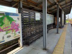 ●福井鉄道 清明駅  タクシーでそのままJR福井駅に戻っても良かったのですが、その後の電車の接続が良くない。そして無駄にお金がかかる。 それならば、現在いる東体育館から一番近い鉄道の駅へ行こうと。 この駅がヒットしたわけです。