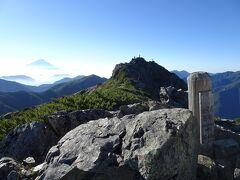 塩見岳に登頂♪5年ぶり2回目です。