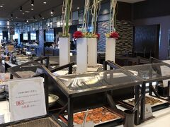 """宿泊は浜名湖畔の""""THE HAMANAKO"""" DAIWA ROYAL HOTELに 温泉♨️がありゆっくり  朝食は『ビュッフェレストラン四季』にて 感染症対策され、ライブメニューも!"""