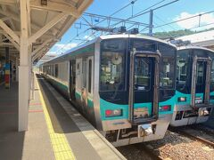 11:26発の小浜線で 若狭高浜駅から敦賀方面へ移動します。