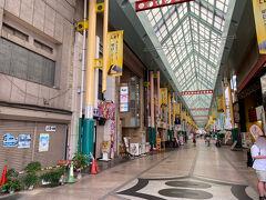 オリオン通り商店街を通って、東武宇都宮駅を目指します。