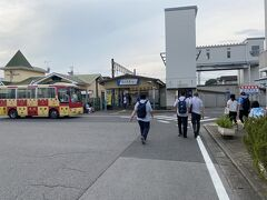 再び、西川田駅まで戻ってきました。