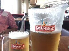 ムンバイ空港でビール飲みまくる