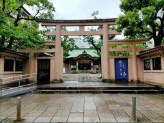 次は本町にある 坐摩神社へ 最初は何と読むのかわかりませんでしたが、これで「いかすり」と読むそうです。 周りをビルに囲まれた、大阪の街の中心部の船場にあるこの神社は、摂津国の一宮です。