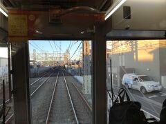 朝の京王線です