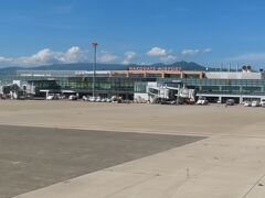 無事オンタイムで函館空港に着陸。