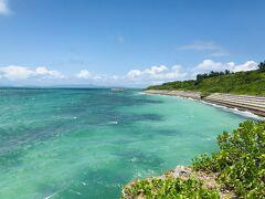 島の北側にある西の浜は、少し波立ってきました。 沖縄で、西という漢字は、方位としては「北」を指すという、 ややこしい現実。