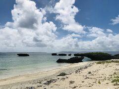 保慶海岸が見える小さな岩。 子牛に見えませんか?!
