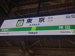 東京駅に行きました。