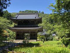 上越妙高から車で20~30分ほどの場所にある「林泉寺」。 上杉謙信に縁の寺です。 現在は拝観休止のため、外から撮影。