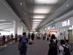 いつもより人が多い那覇空港
