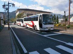 上松駅に到着しました。ここから先は普通列車のみ運行が再開されています。