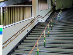 現在、叡山電車「貴船口」駅は閉鎖中…    バス停まで残り100mくらい…