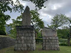 こちらも北海道開拓に尽力した方々の記念碑です。