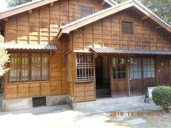 東興洋行の東隣に台鹽日式宿舍があります。日本統治時代の安平地区管理の幹部の住居を保存してあるそうです。昭和天皇が皇太子時代に訪問されたと書かれてました。