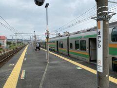 池袋から1時間半ほどで早川駅に到着。