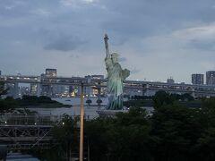 自由の女神像が見えてきました