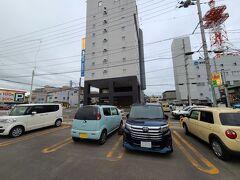 途中、菅生PAと花輪SAで休憩して  ホテル天然温泉 岩木桜の湯 ドーミーイン弘前 到着 時刻は5時過・・・・