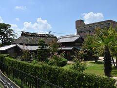 久留米出身坂本繁二郎画伯の生家、綺麗に保存されています。