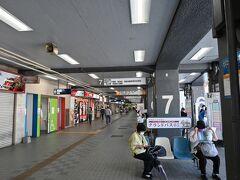 JR久留米駅とは比較にならないくらい賑わっています。