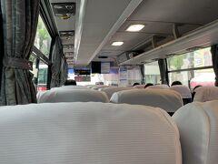 バスに乗って鹿児島空港へ向かう。