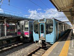 新型の703系(設計JR東日本E721系)