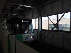 澄川駅から南北線、大通から東西線で円山公園に向かいます ゴムタイヤ地下鉄なので、加速感は独特です