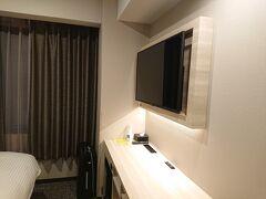 今夜の宿はスマイルホテル大阪中之島