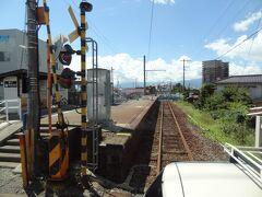 西松本駅。 廃線ではありませんが、電車が来なくなってしまいました。