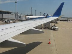 NH2176便は、9時30分過ぎに成田国際空港に到着。