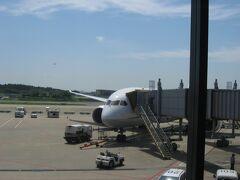 NH941便の機材はB787-8。 ドイツには前年(2013年)旅行したばかりですが、落ち着いたらこちらも再訪してみたいです。