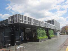 帰りも東所沢駅です  新しく生まれ変わって「ポップな駅」と注目されている駅なんです
