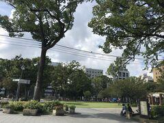 普段の横浜公園に
