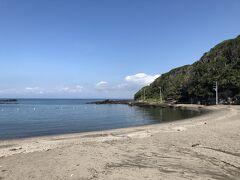 砂浜がきれいな荒井浜海水浴場です。