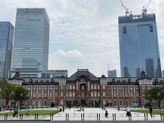 皇居周辺の散策後、東京駅まで戻ってきました。