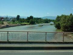 松本行きのバスの中から。 いいお天気(*^▽^*)