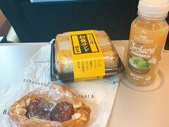 先週に続いて軽井沢へ 朝食は築地で有名な松露のたまごサンドと秋らしい栗を使ったデニッシュにしました