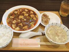 四川麻婆豆腐ランチ      四川なので辛めです! って言うか本格的です